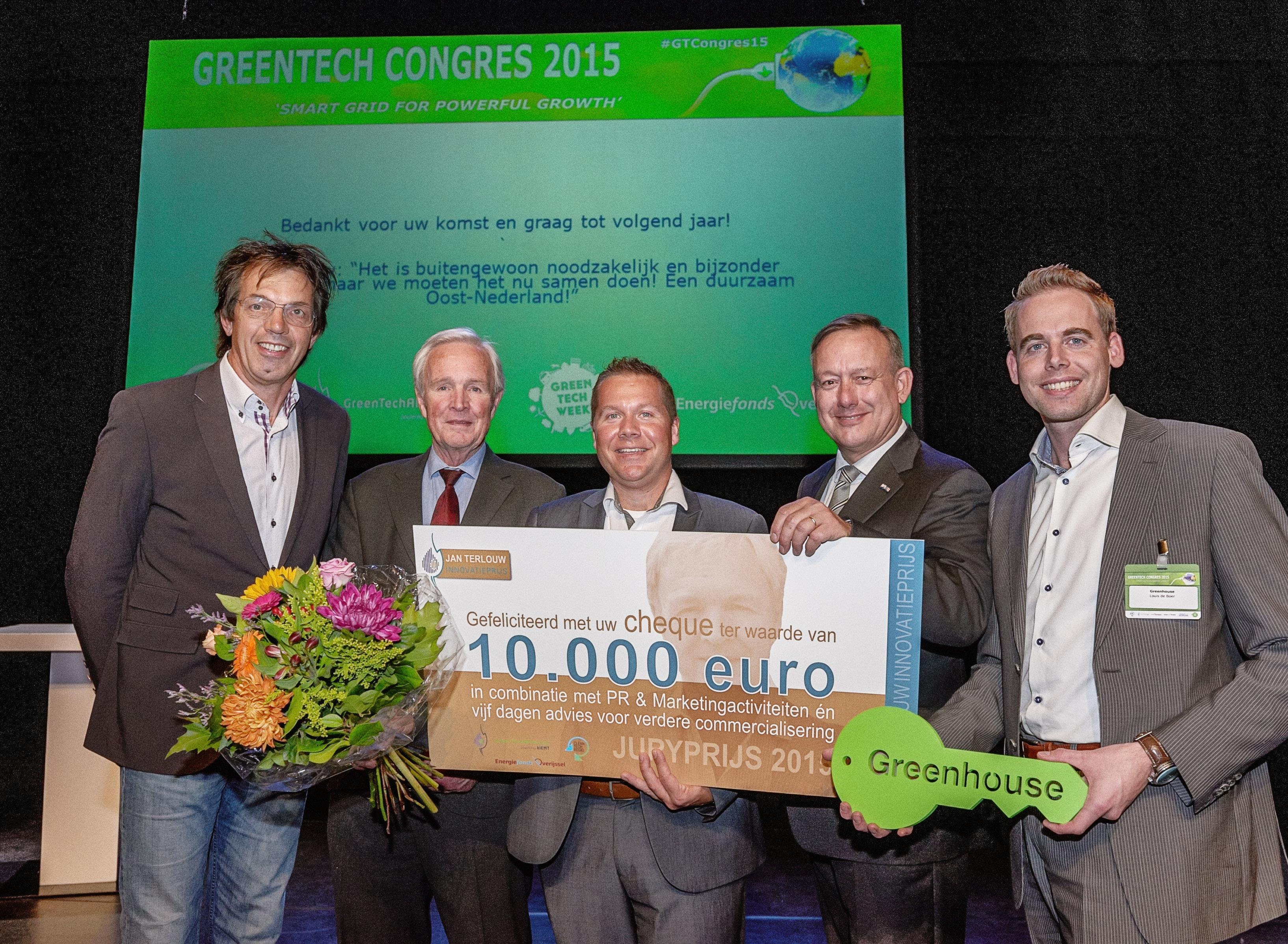 IF Technology winnaar Jan Terlouw Innovatieprijs 2015