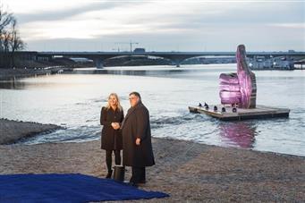 Video waarin de veranderingen rondom Nijmegen in beeld zijn gebracht