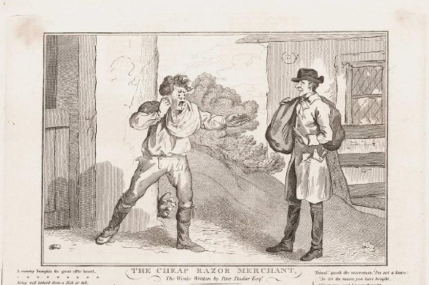 Scheren in de 18e eeuw