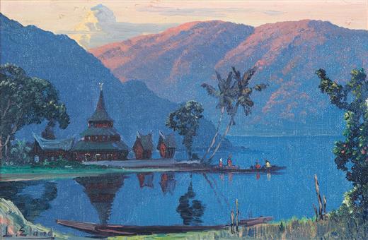 Schilderijen uit Indonesië