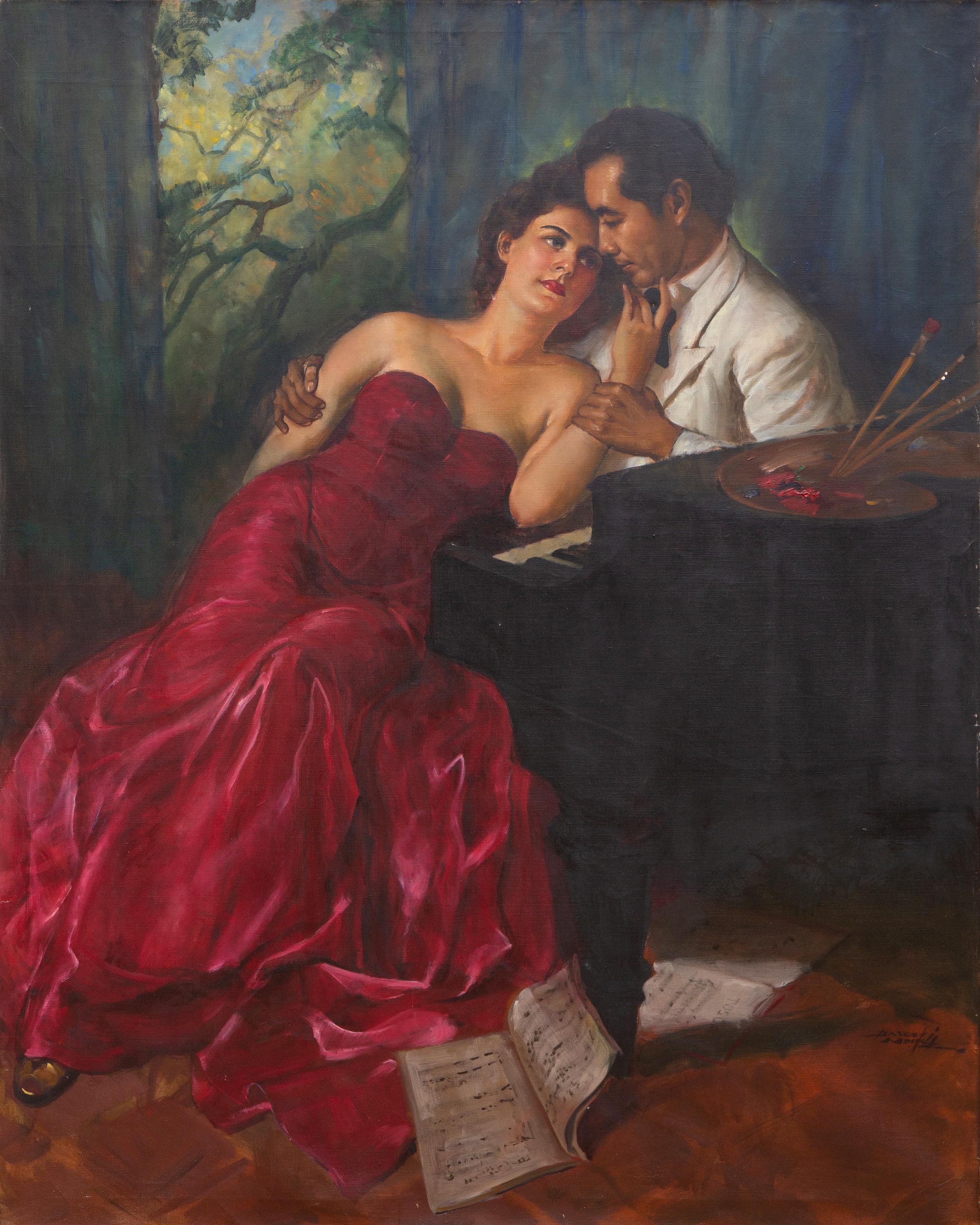 'Colour and Music', Mr and Mrs Basoeki Abdullah