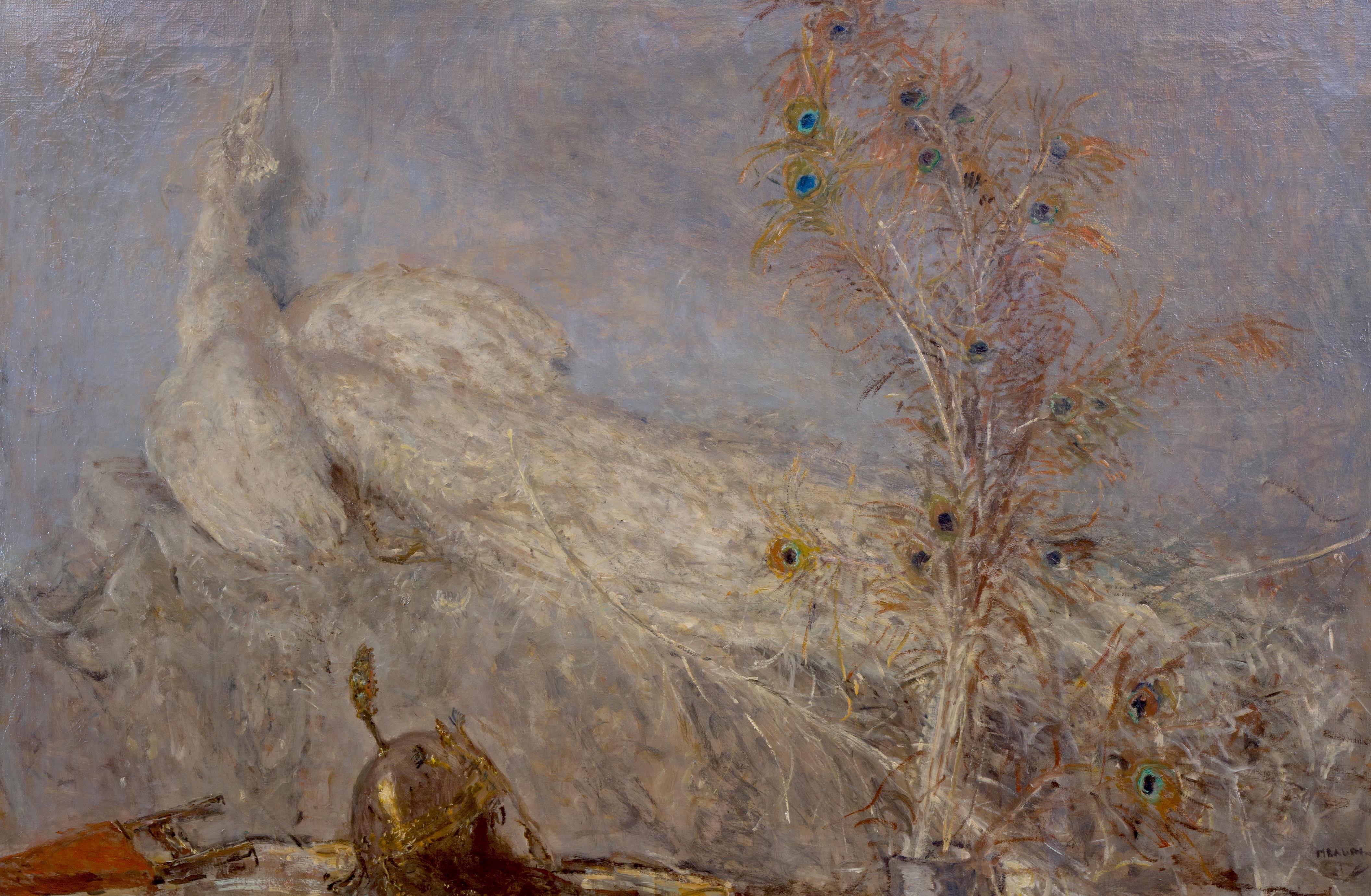 De witte pauw van Marius Bauer