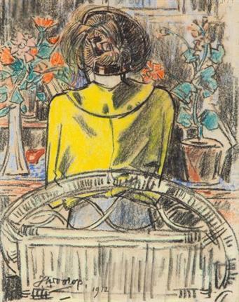 18-5-2021 | Zijn lezende vrouwen gevaarlijk? Over een werk van Jan Toorop
