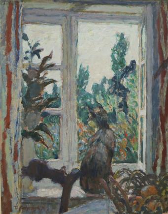 Poes in vensterbank: over het werk van Theo Kurpershoek