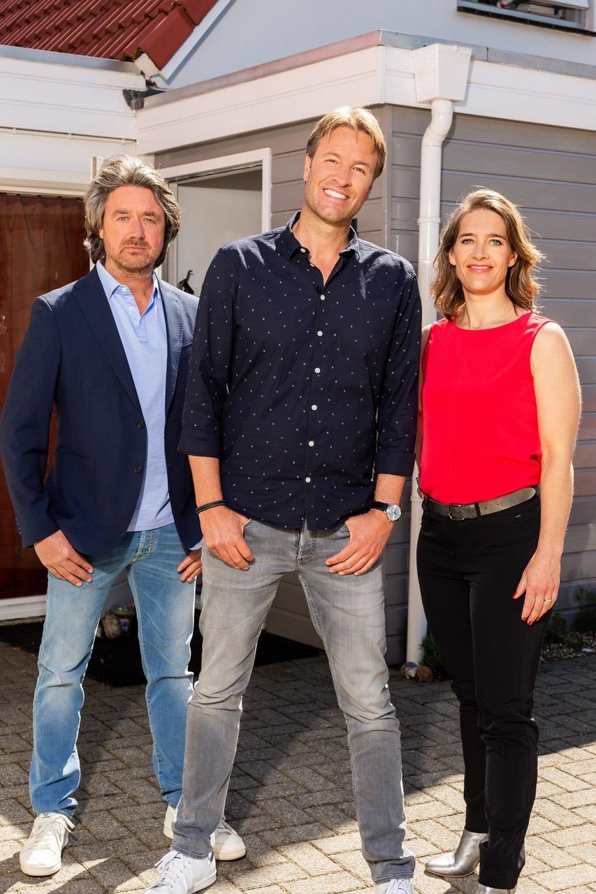'Hoeveel ben je waard' op SBS6 met Victor Brand, Emiel Geurts en Femke Hogema