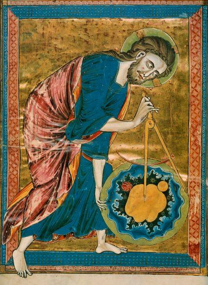 Codex 2554 God als architect van het universum Wenen Oesterreichische Nationalbibliothek