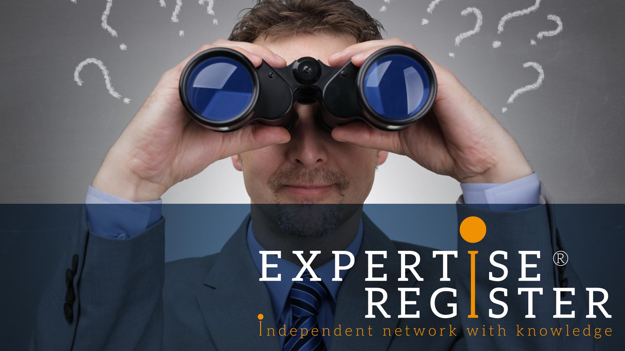 Experts gezocht