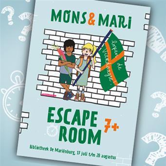 Escape room Mons&Mari lopen de Vierdaagse