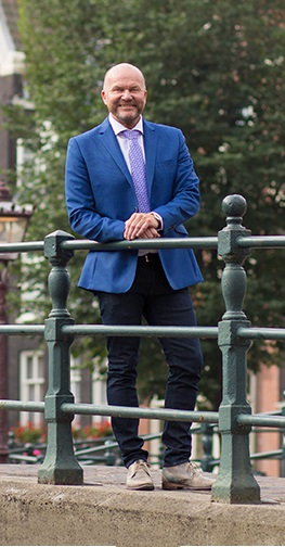 Ron de kort van Dutch Property Inspections geregistreerd als register bouwkundig Inspecteur.