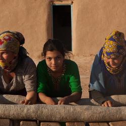 Karakum Desert - Rolling felt