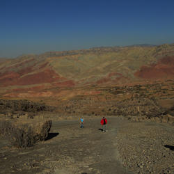 Kugitang Mountains -Dinosaur Plateau