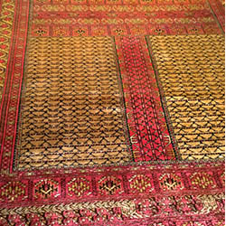 Carpet silk